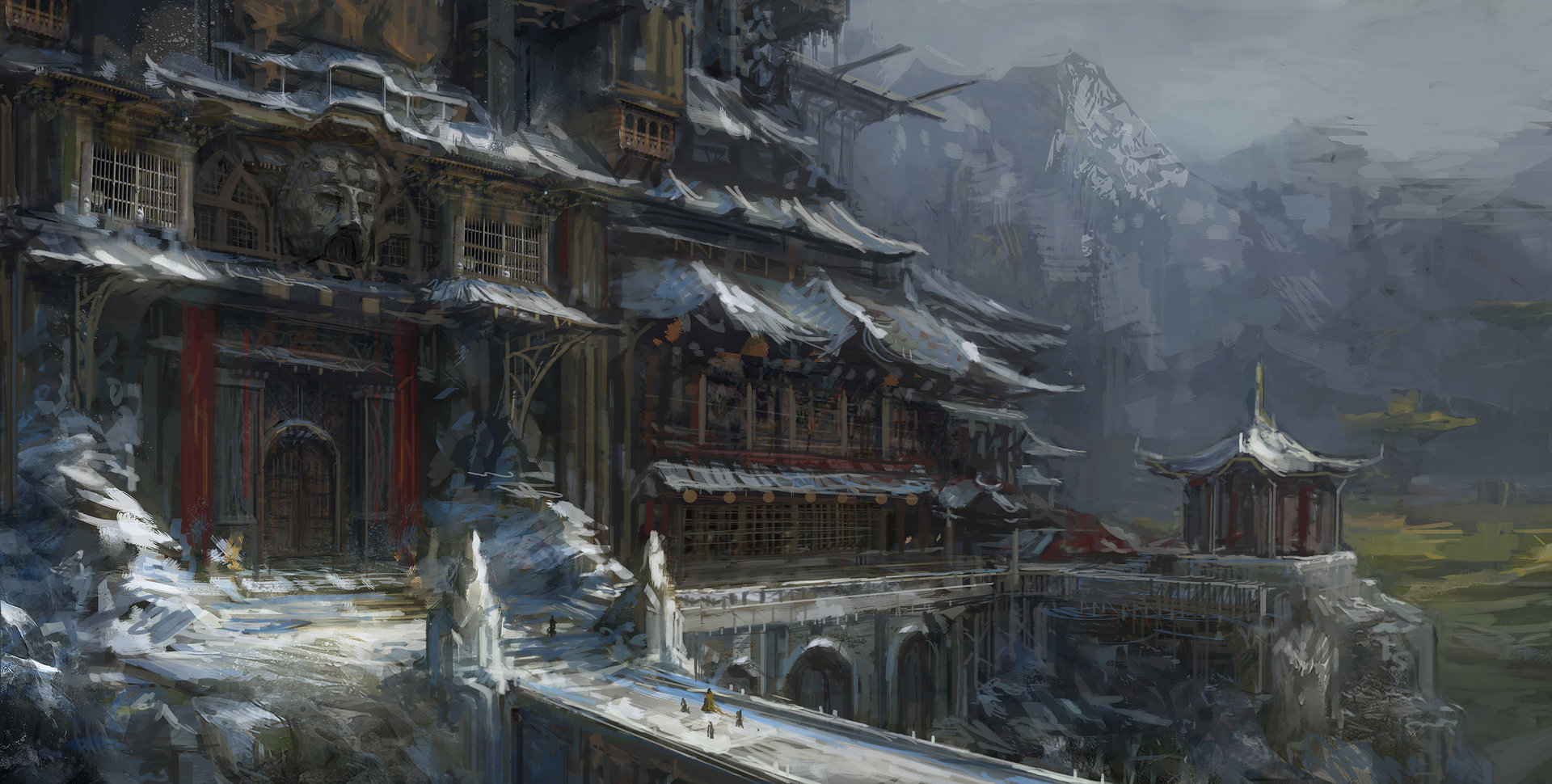 Muyoung kim mountain monastery