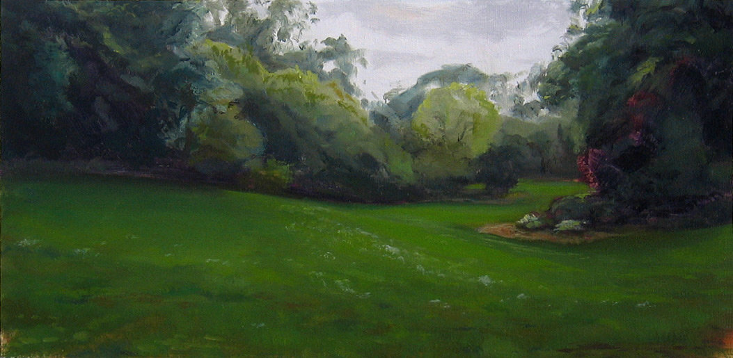 Landscape Painting with study