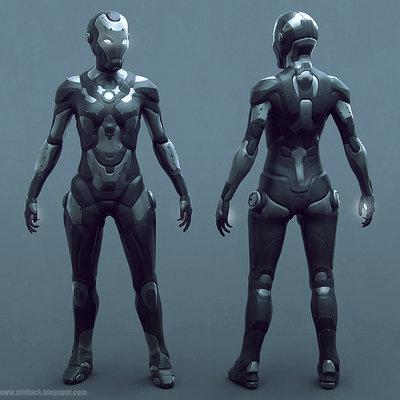 Ste flack iron woman