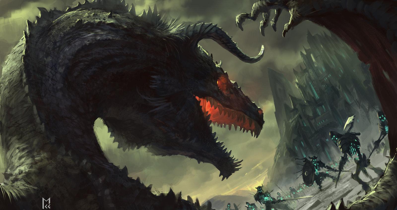 Dragon invader