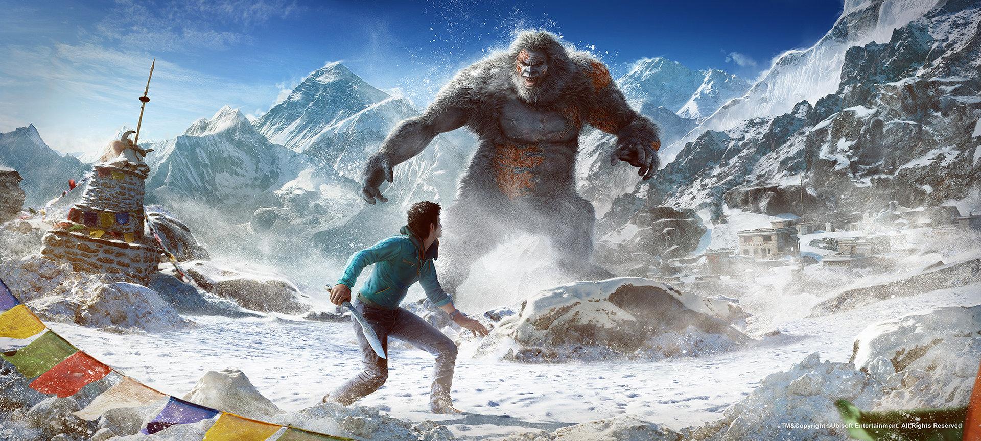 Artstation Far Cry 4 Yeti Encounter Eve Berthelette