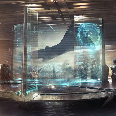 Atomhawk design gotg intnovacorp hologramtable