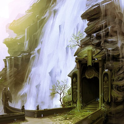 Daniel conway waterfall doorway