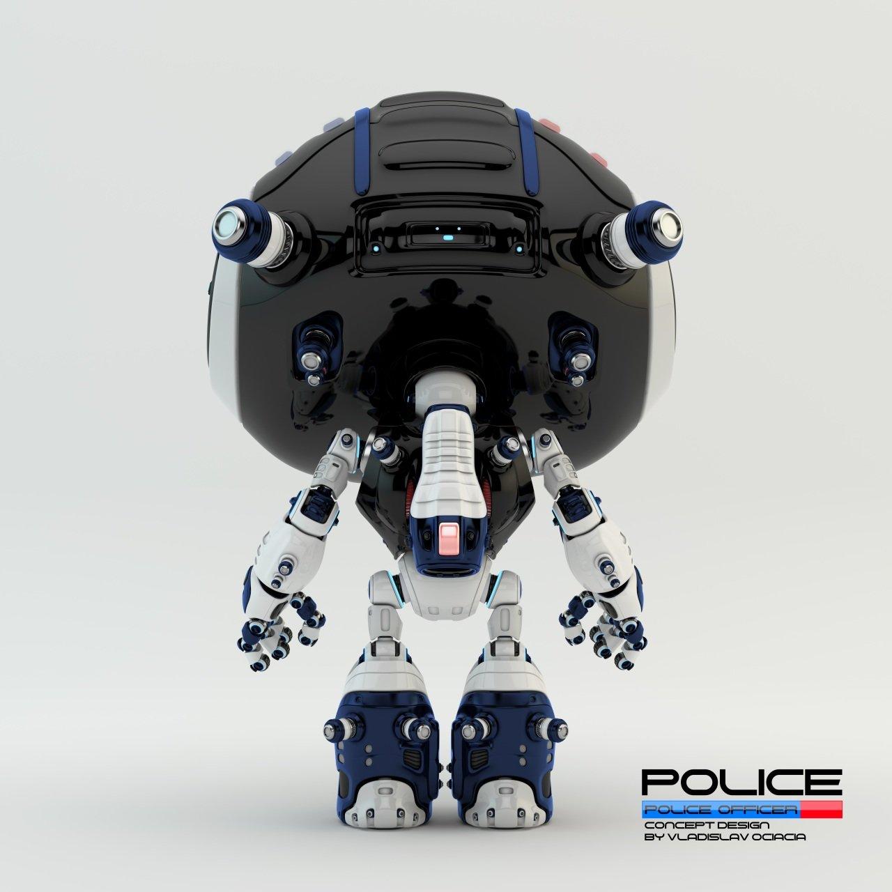 Vladislav ociacia police robot 10