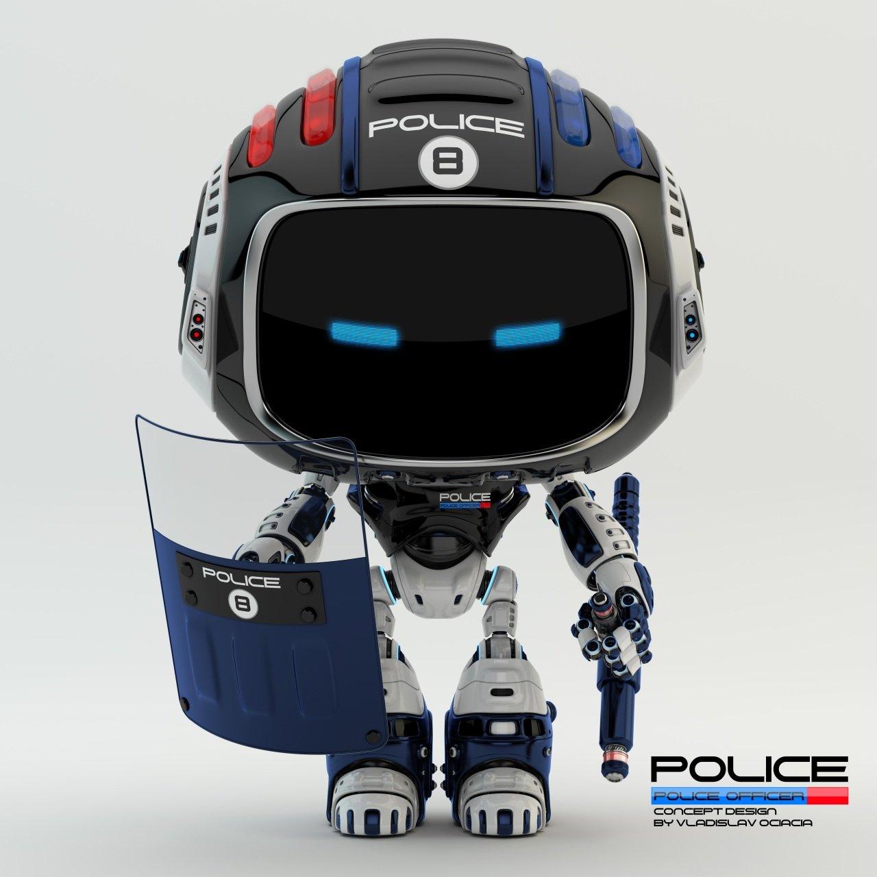 Vladislav ociacia police robot 12