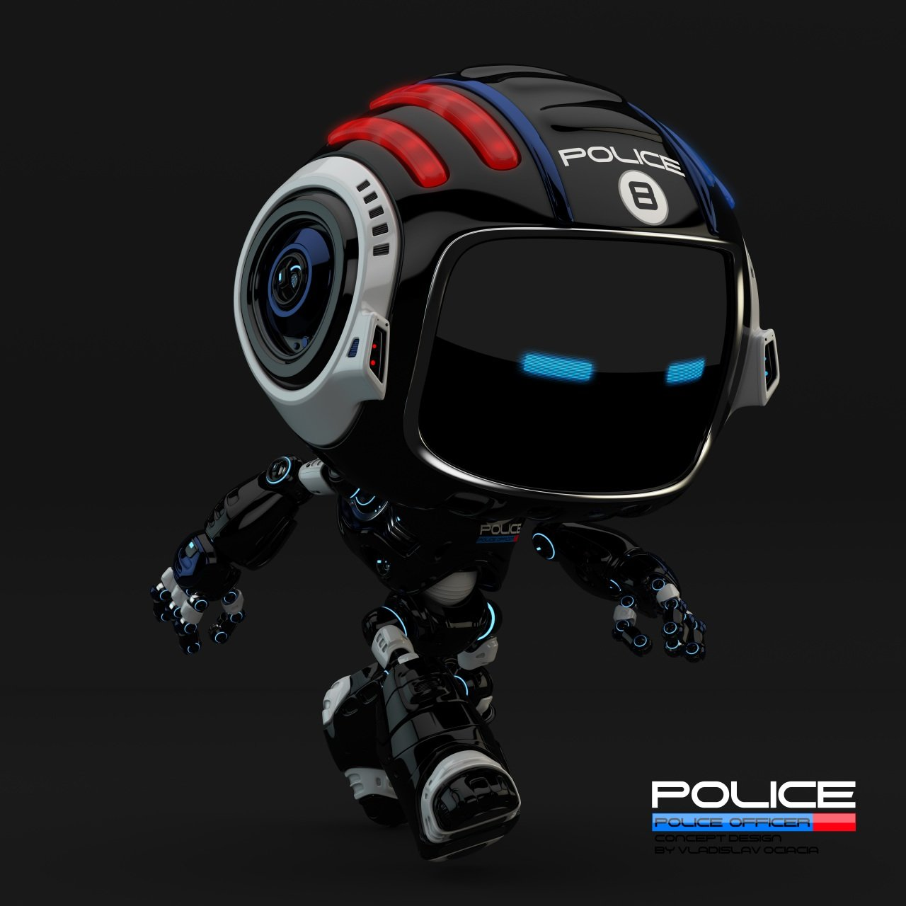 Vladislav ociacia police robot 1