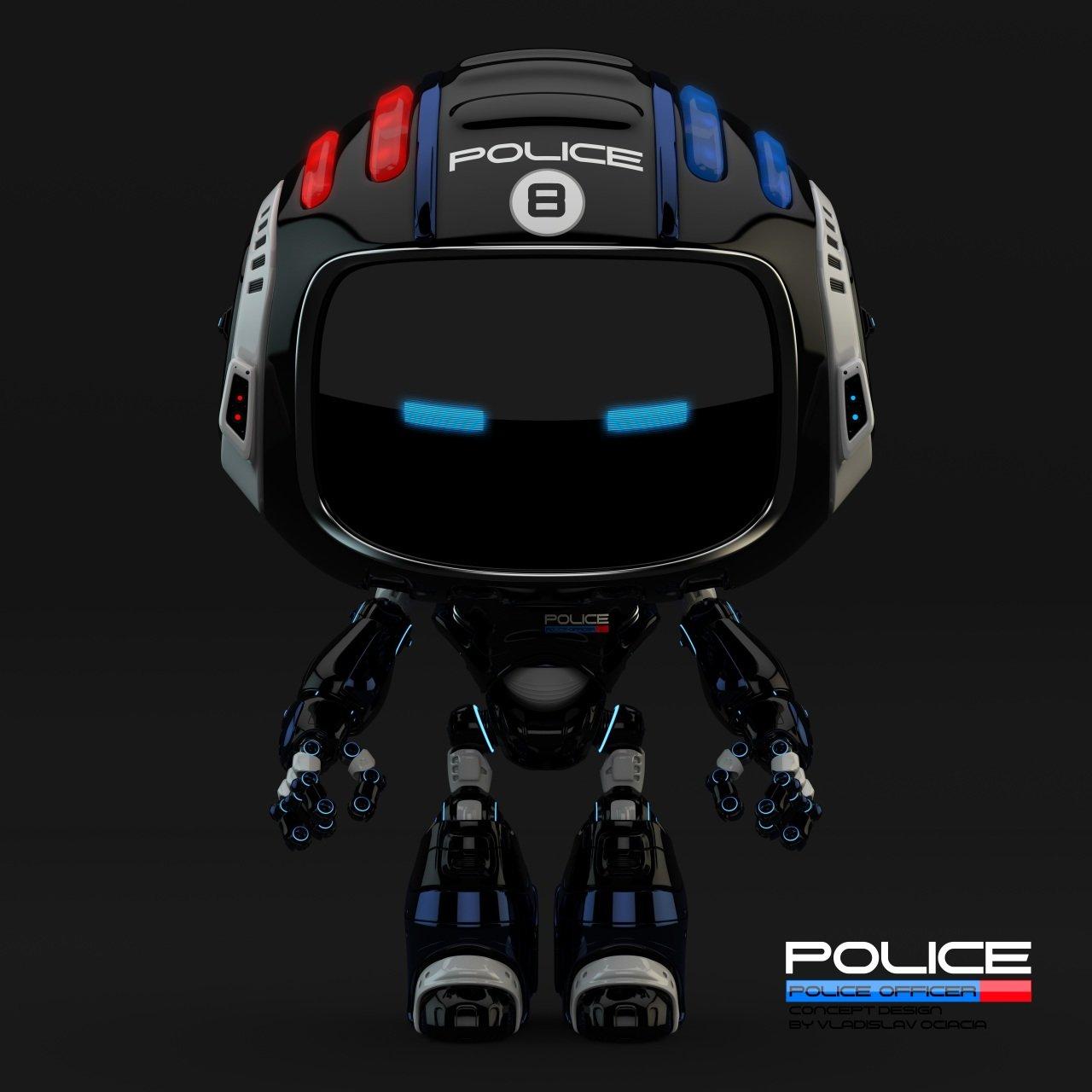Vladislav ociacia police robot 4