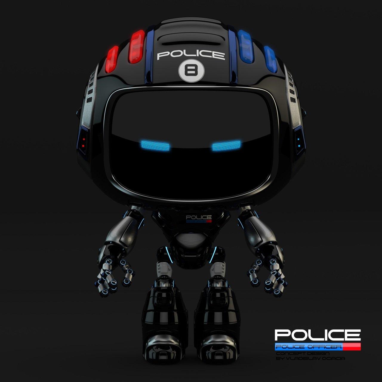 Vladislav ociacia police robot 5