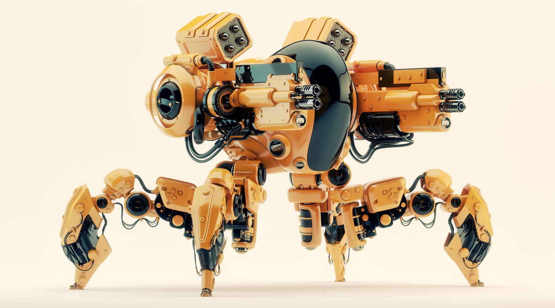 Vladislav ociacia robot spider 1 1