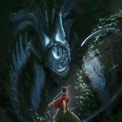 Daniel hidalgo vicente samurai vs alien