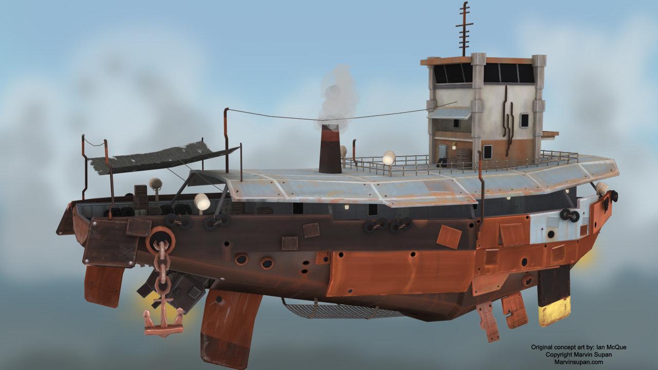 Marvin supan airship scrapmetal post