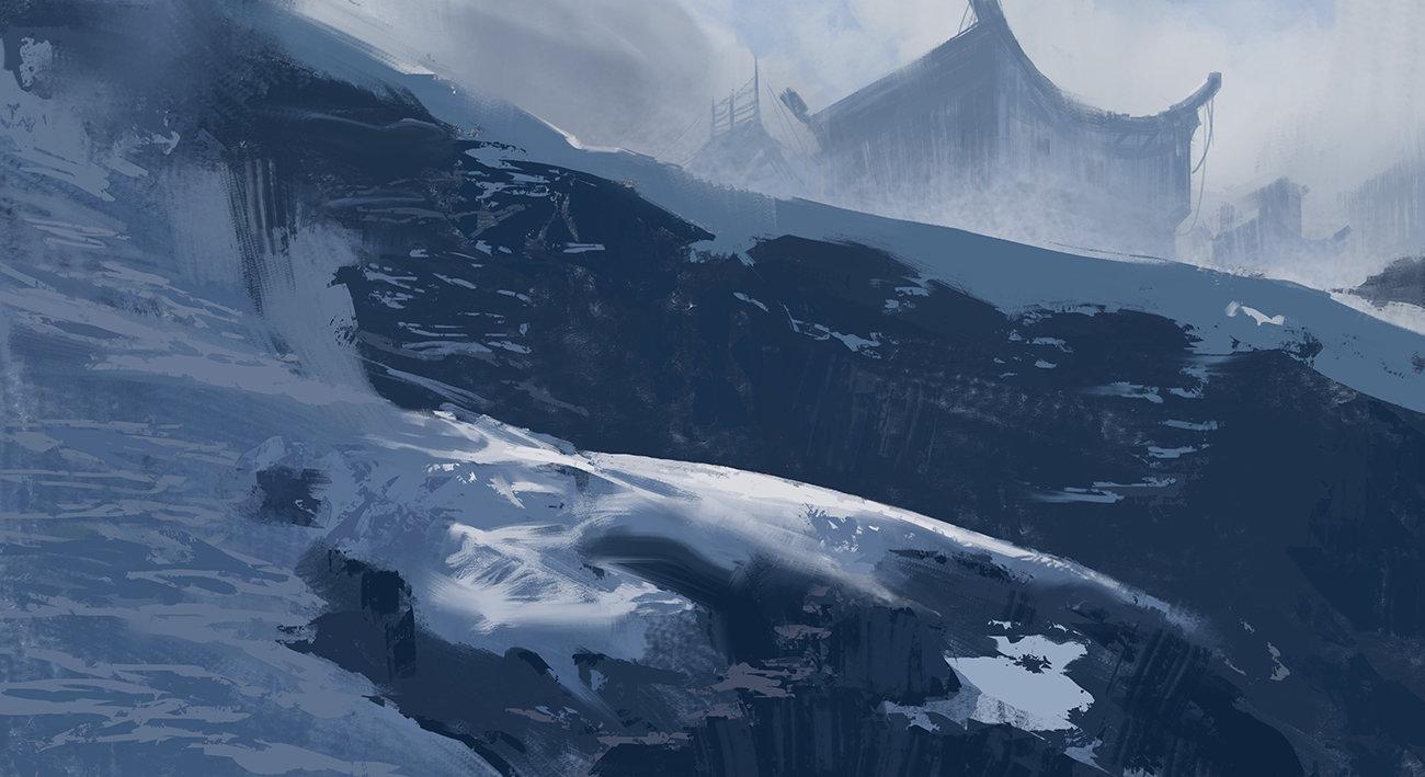 Jad saber snow sketch