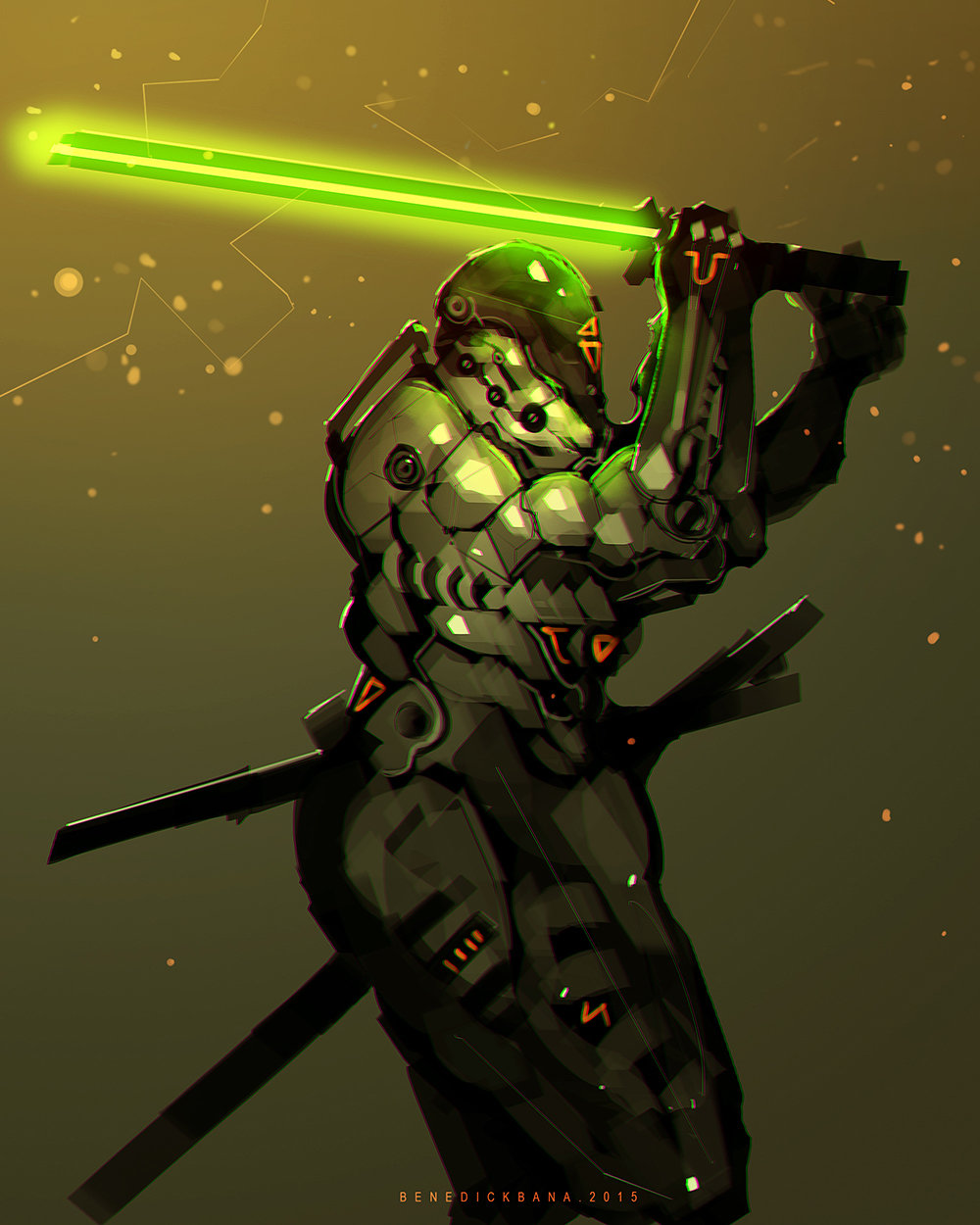 Benedick bana final thrust lores
