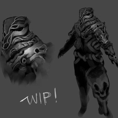 Benedick bana skull commander wip
