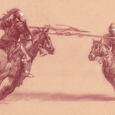 Michael hayes joust lowres