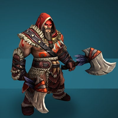 DOTA 2 Red Talon Beastmaster Set