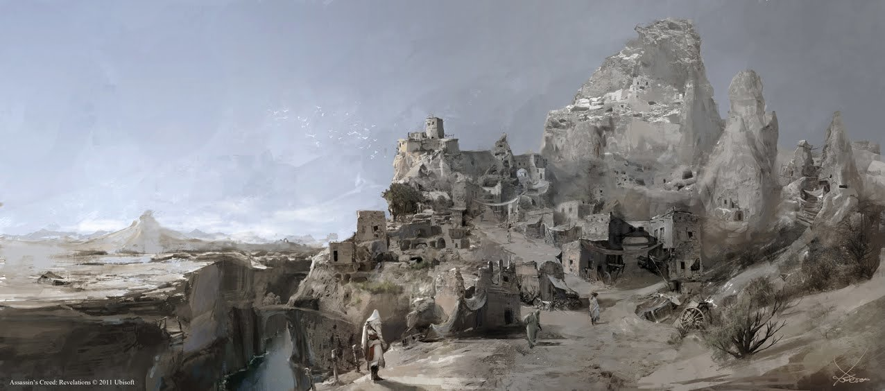 Assassin's Creed Revelation- Cappadocia upper city