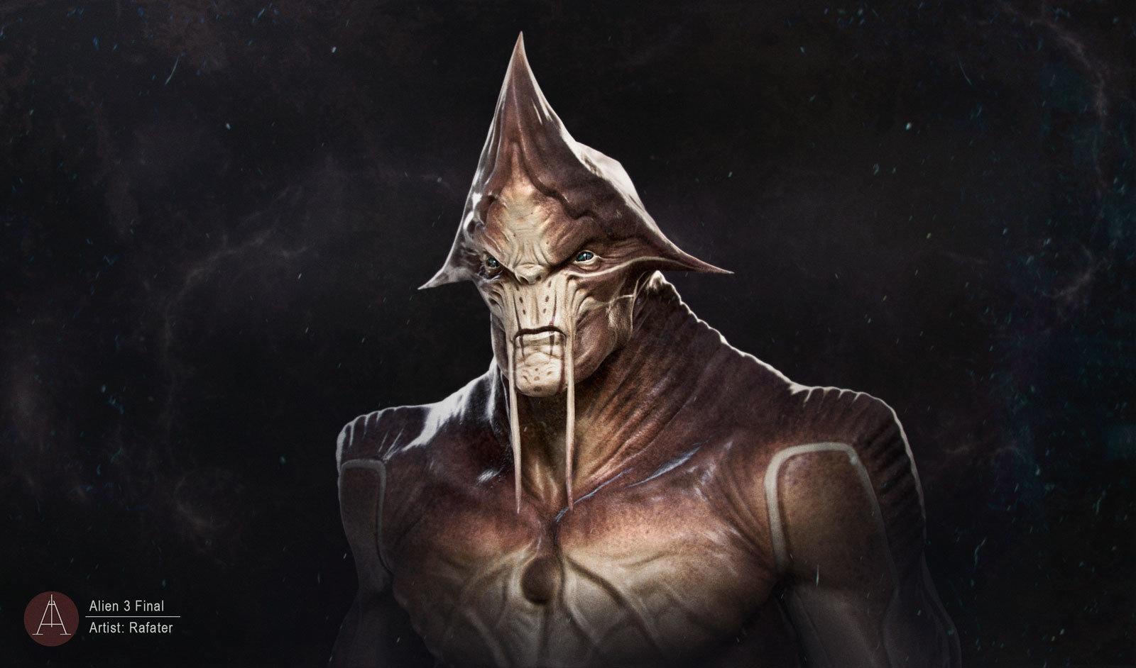 Alien render