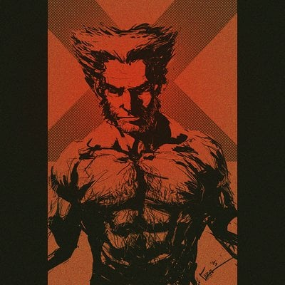 Chris shehan wolverine sketch 3 20 15