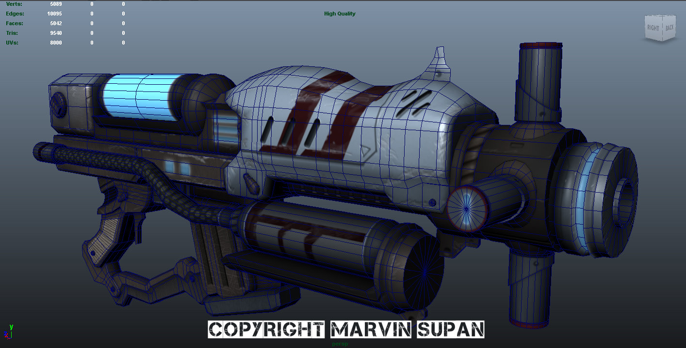 Marvin supan scifigun wire