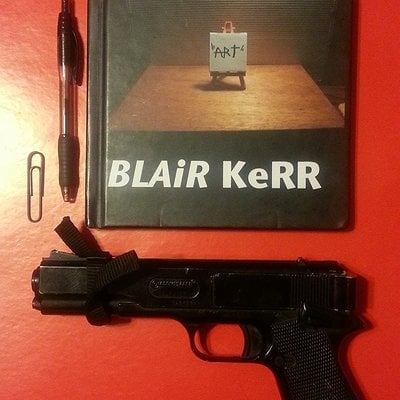 Blair kerr book nigga