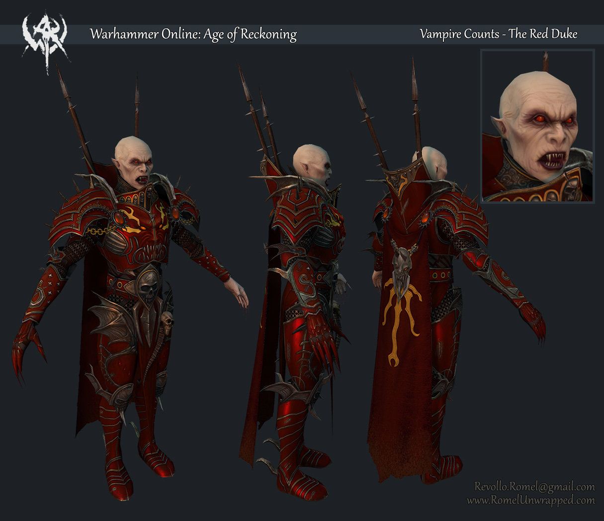 Found A 3d Model From Unrelased Vampire C Add On Return Of Reckoning