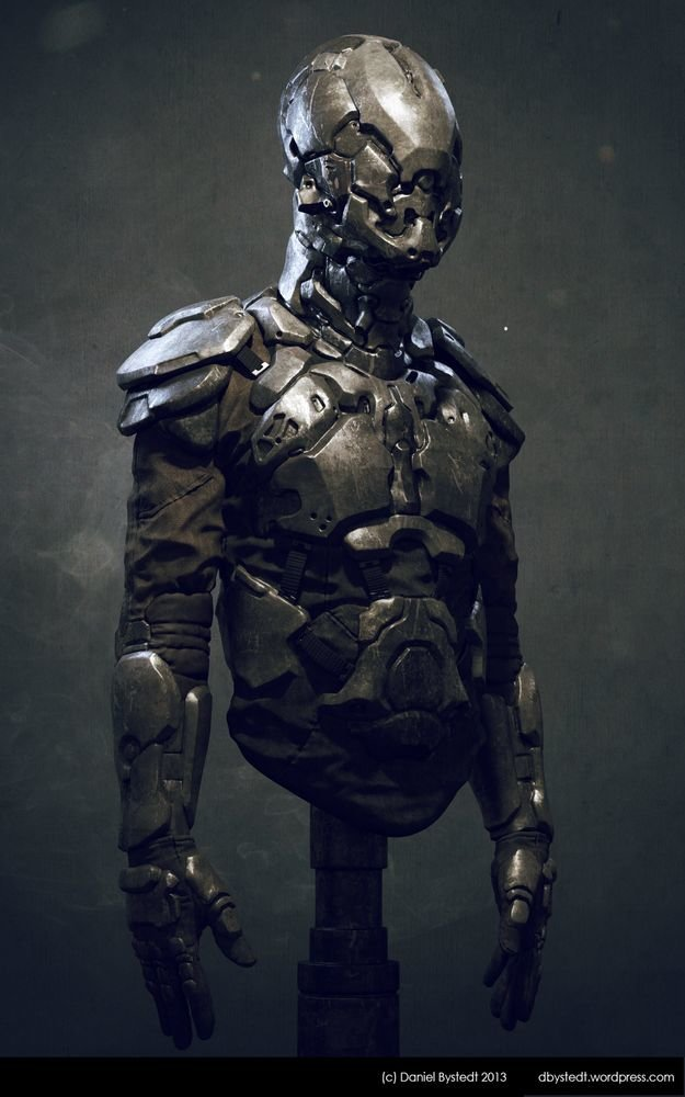 Daniel bystedt small scifiarmor threequart