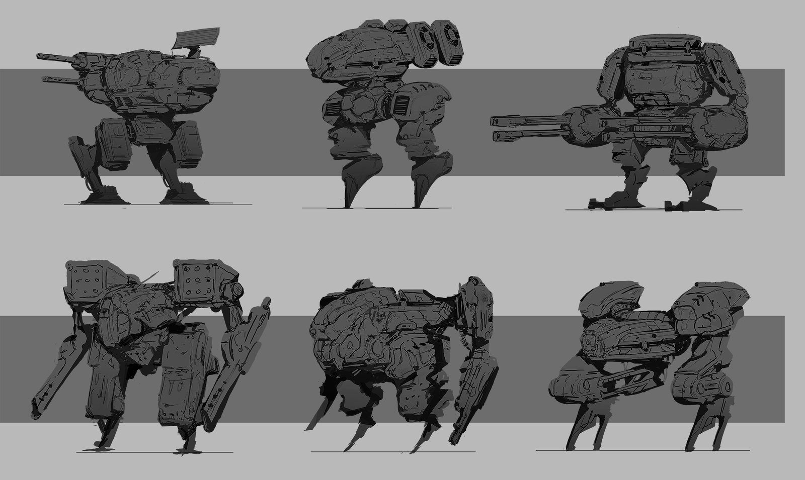Mech Sketches
