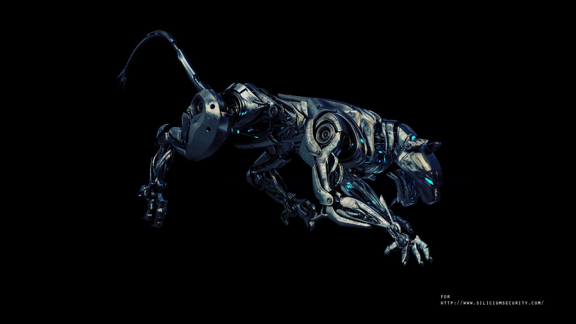 Робот-тигр  № 3606305 загрузить