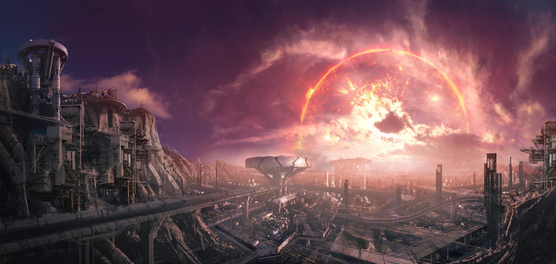 Tu bui o2 sky 03 red giant light source