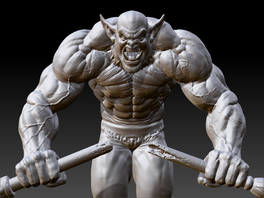 Most muscular troll