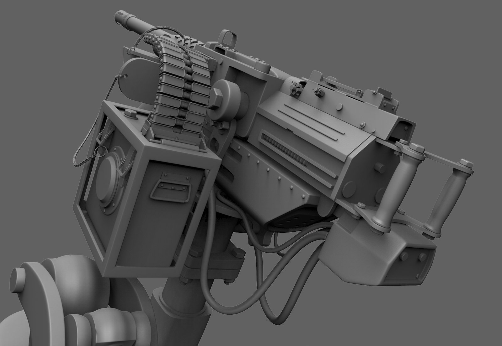 Trying my hand at box modeling in ZBrush4R7