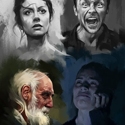 Aaron griffin emotion studies 4