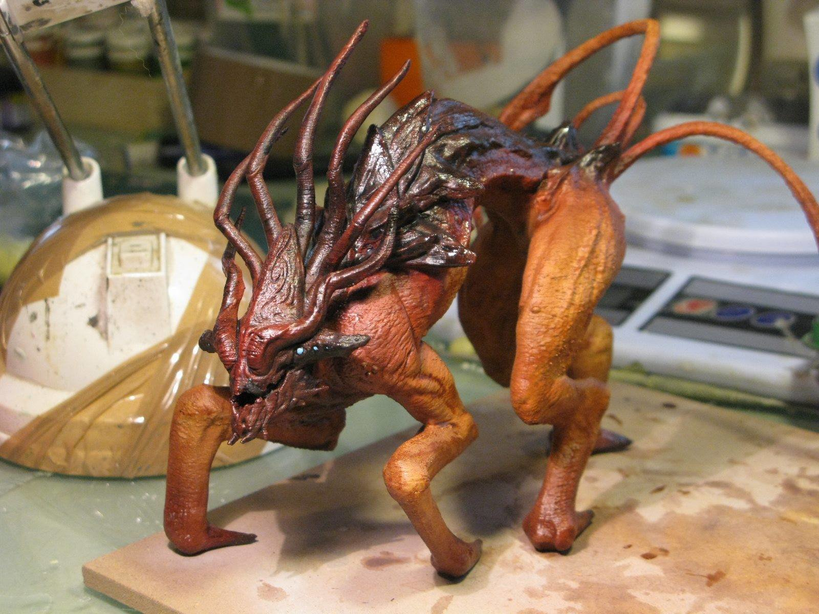 3D printed version Painted by Yohsuke Kawabuko