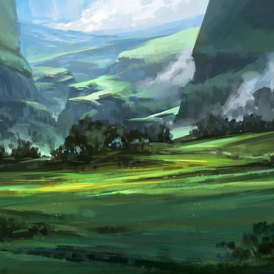 Sebastian wagner colorful landscape1