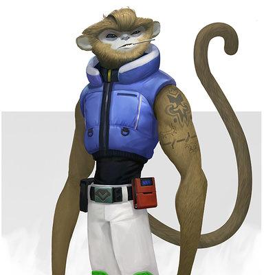 Konstantin maystrenko monkey small