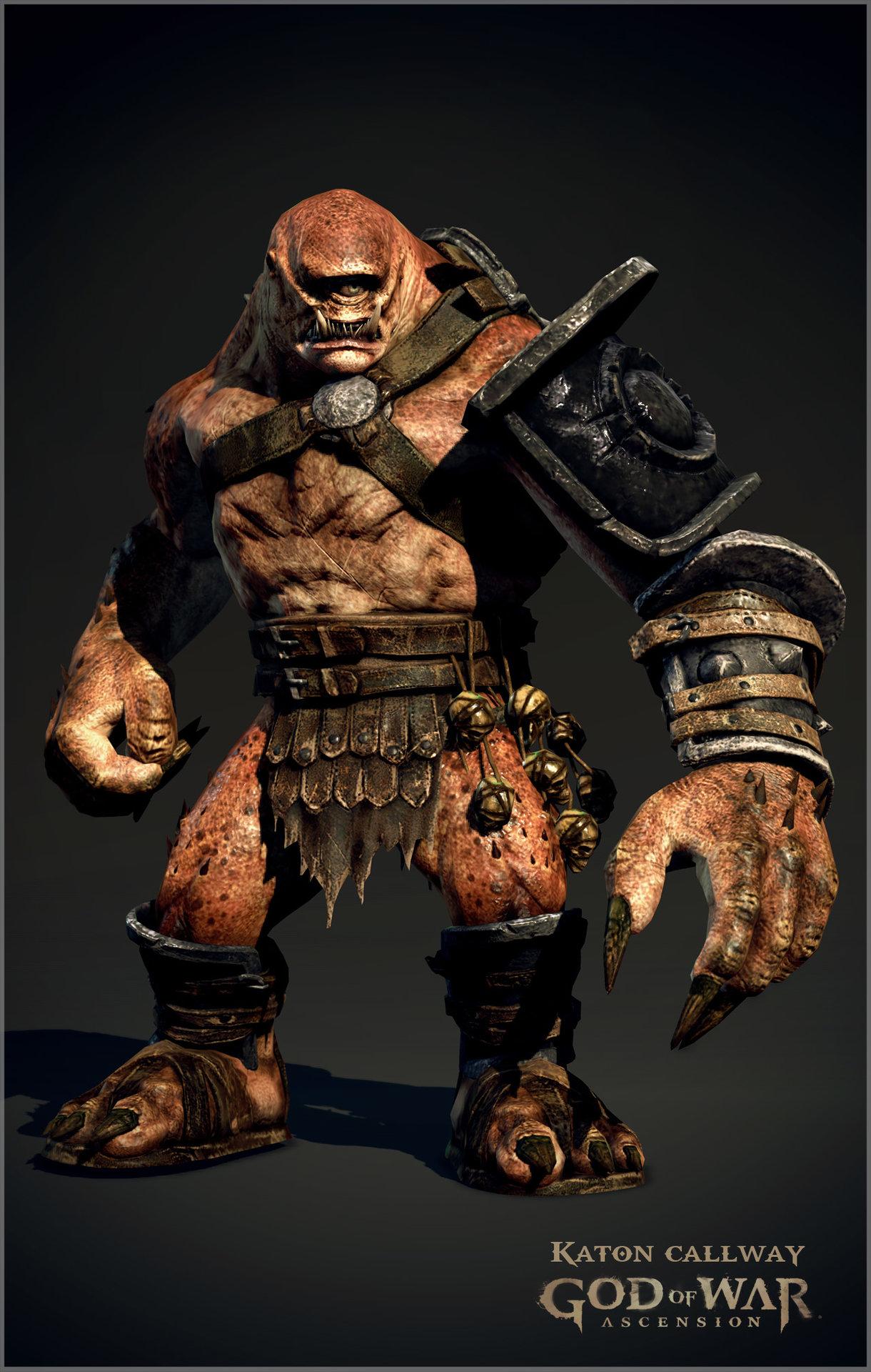 Artstation God Of War Ascension In Game Assets Katon Callaway