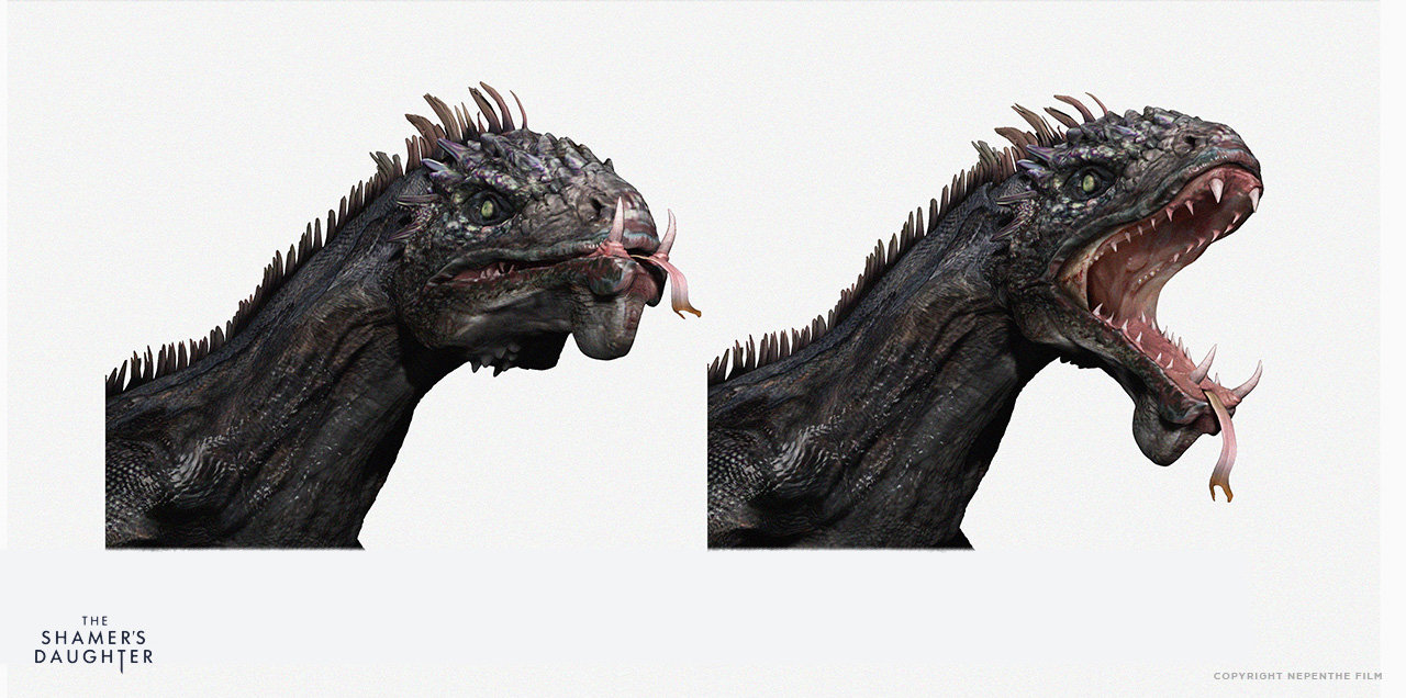 Jan ditlev draco head mouth