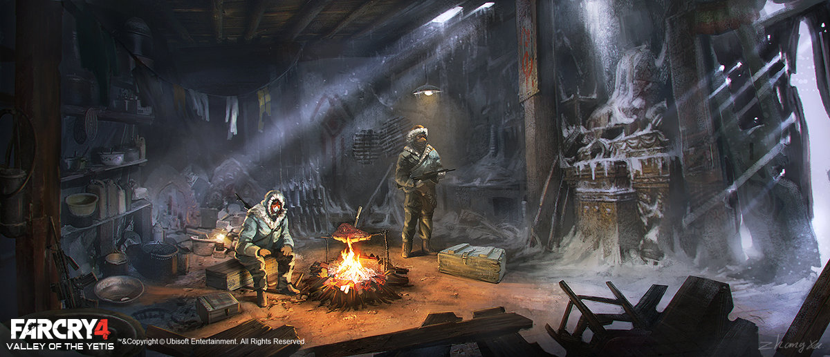 Artstation Far Cry 4 Dlc Valley Of The Yetis Concept Art Xu Zhang