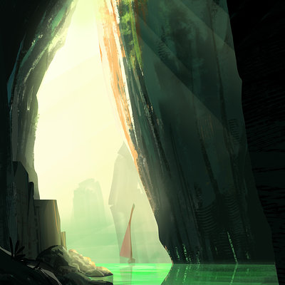 Clement dartigues undiscovered cavern