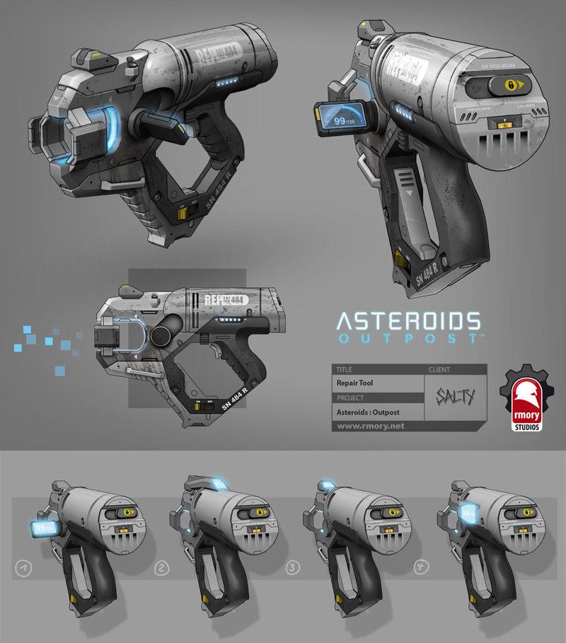 Asteroids: Outpost - Repair Tool