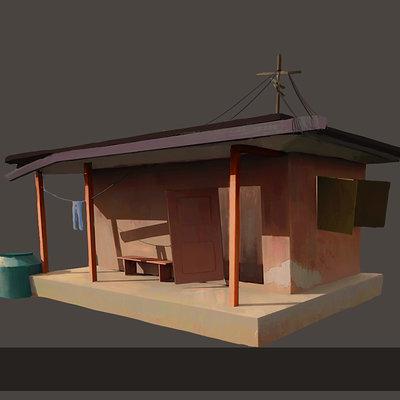 Harrison yinfaowei boga house drawing
