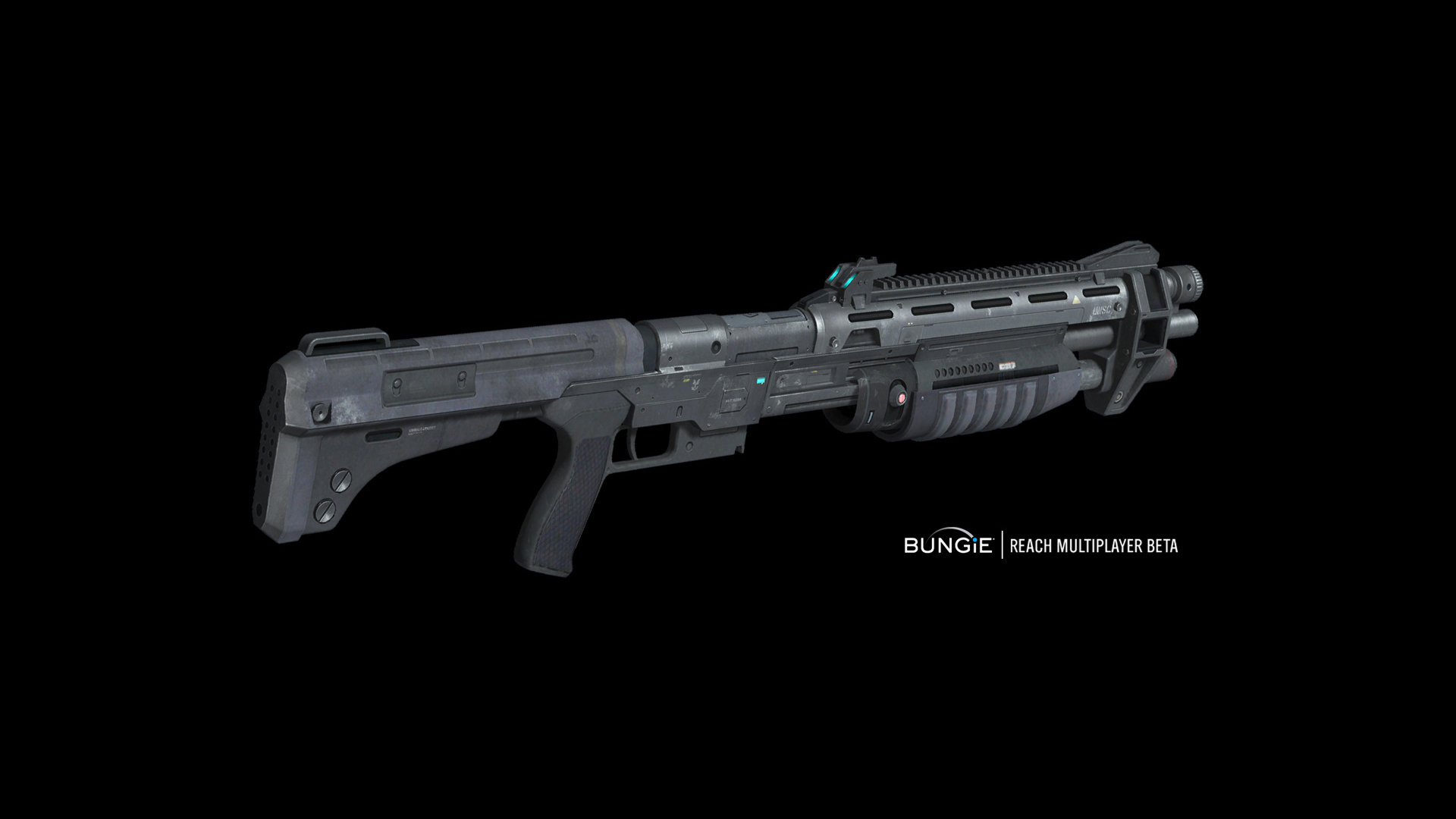 ArtStation - Halo Reach: Shotgun (3d hard surface model) in