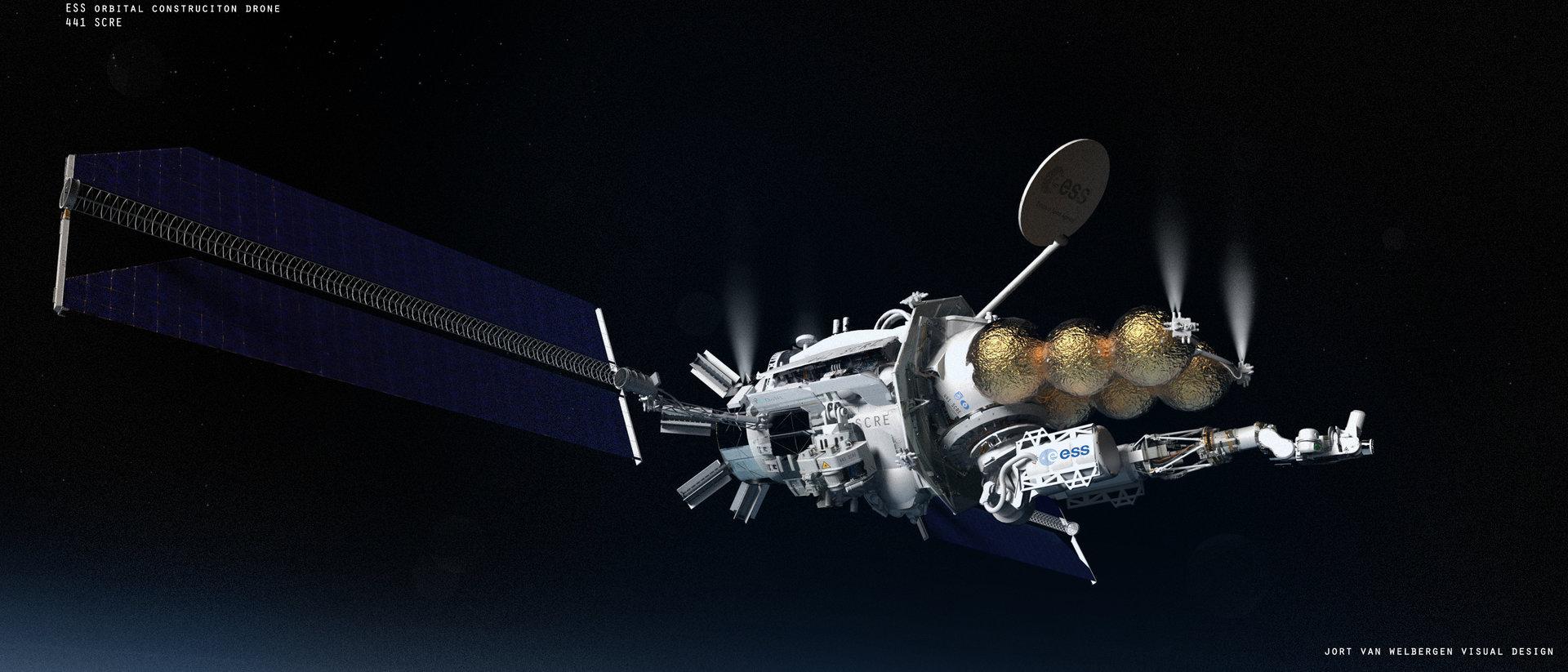ESS Orbital Construction Drone 441 SCRE