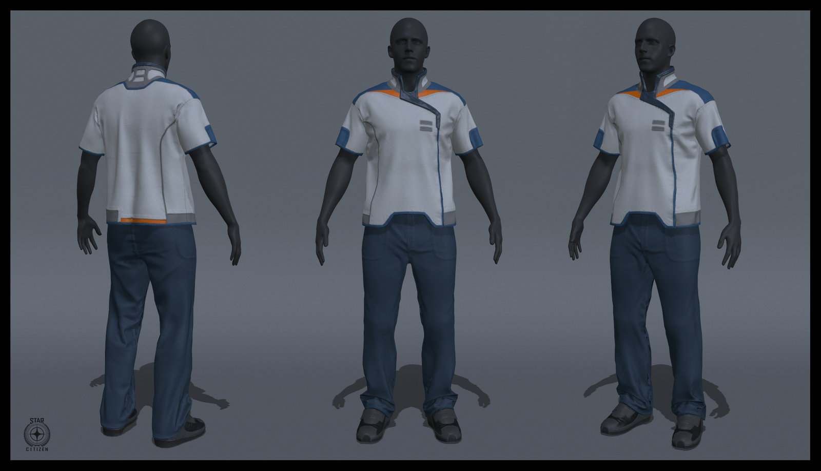 Star Citizen - ArcCorp Nurse Uniform