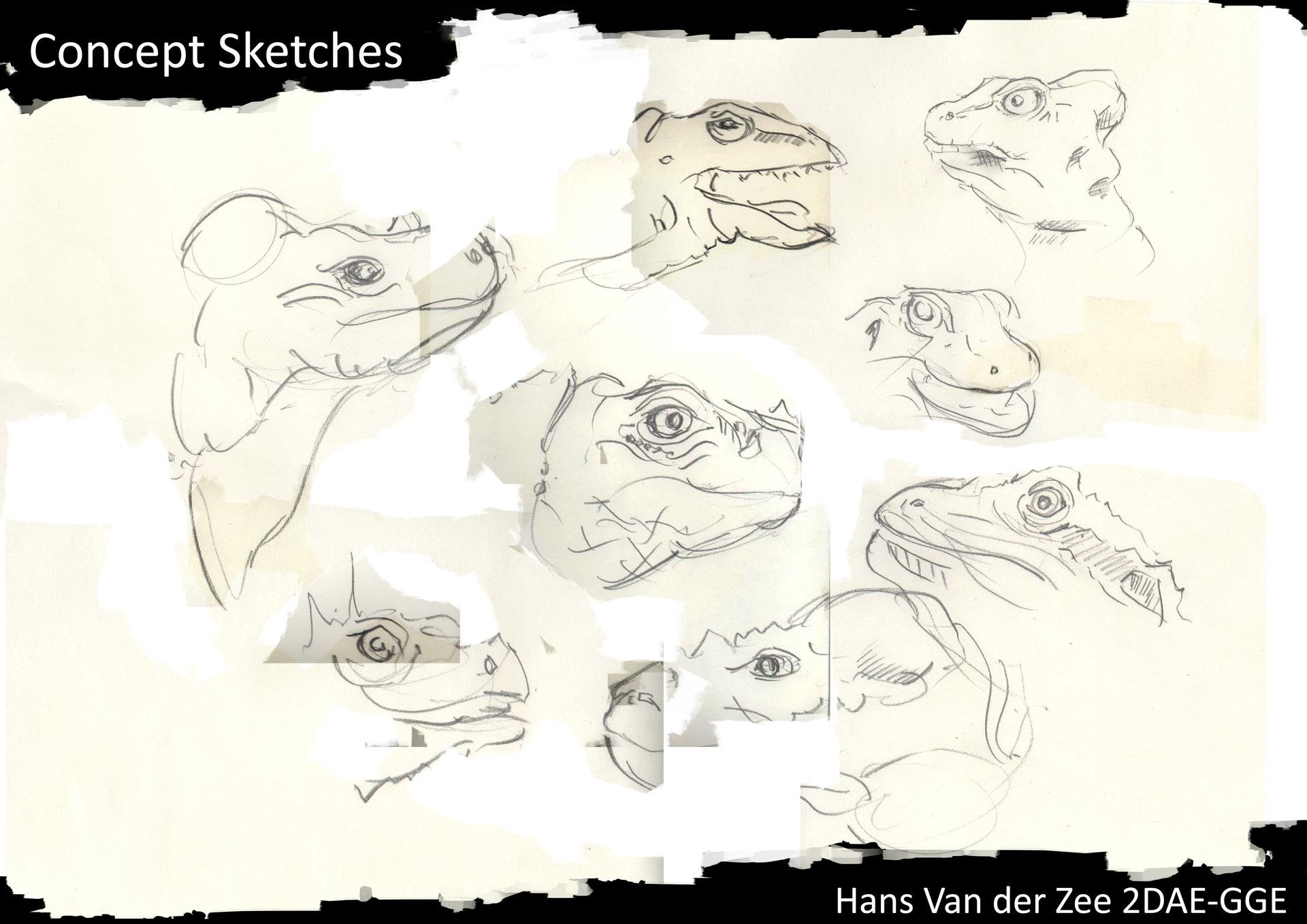 Hans van der zee 2dae van der zee hans exam concept sketches p4