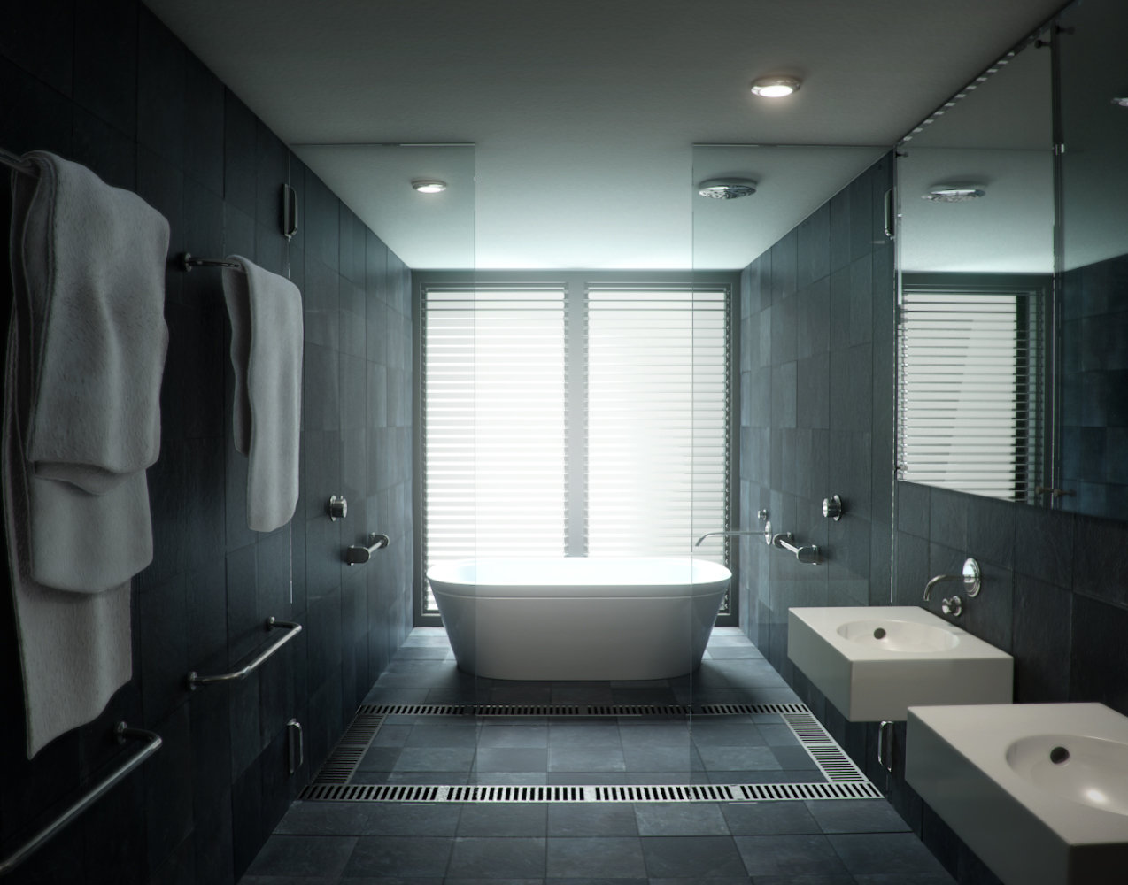 Bathroom Arch Vis