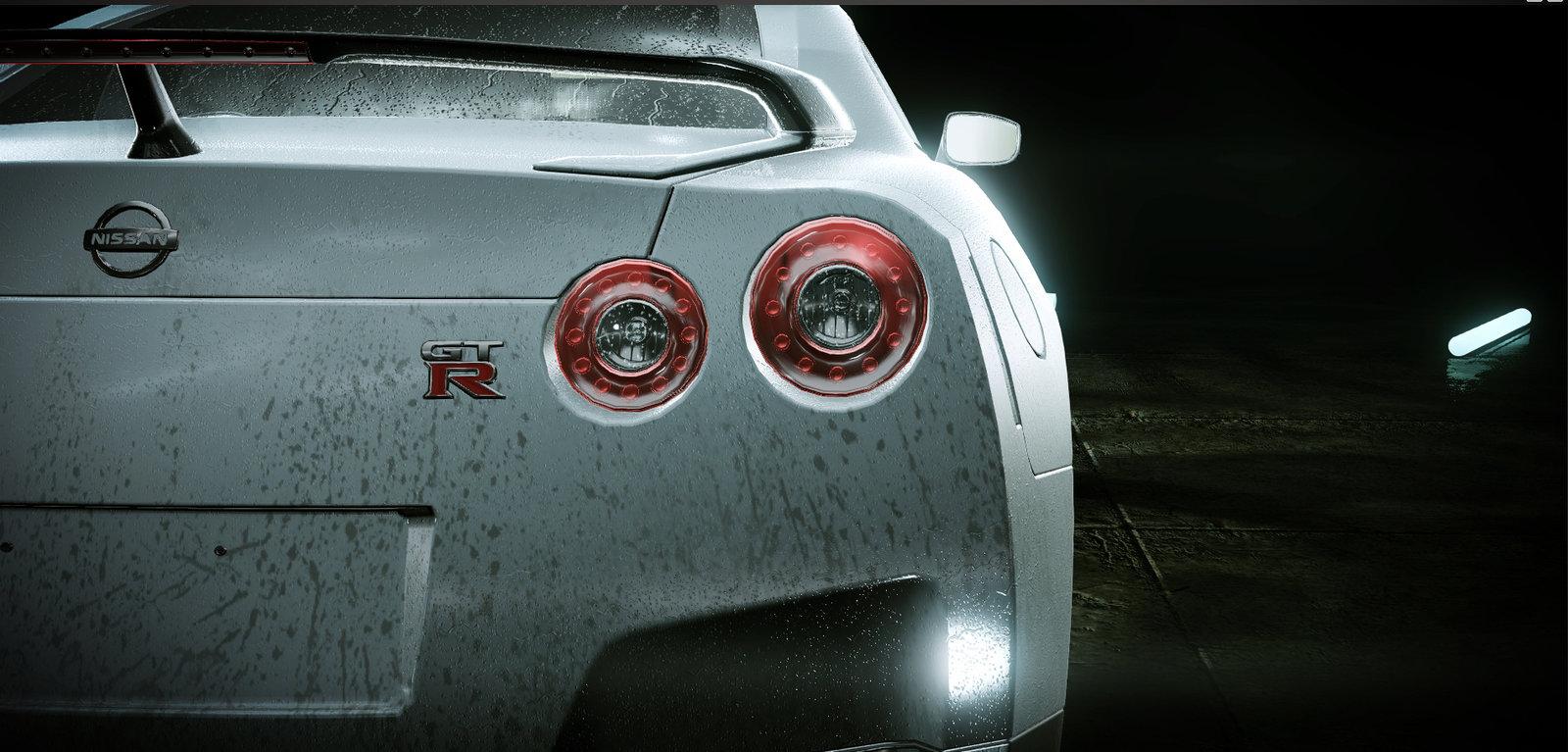 Nissan GTR Cryengine Render Detail