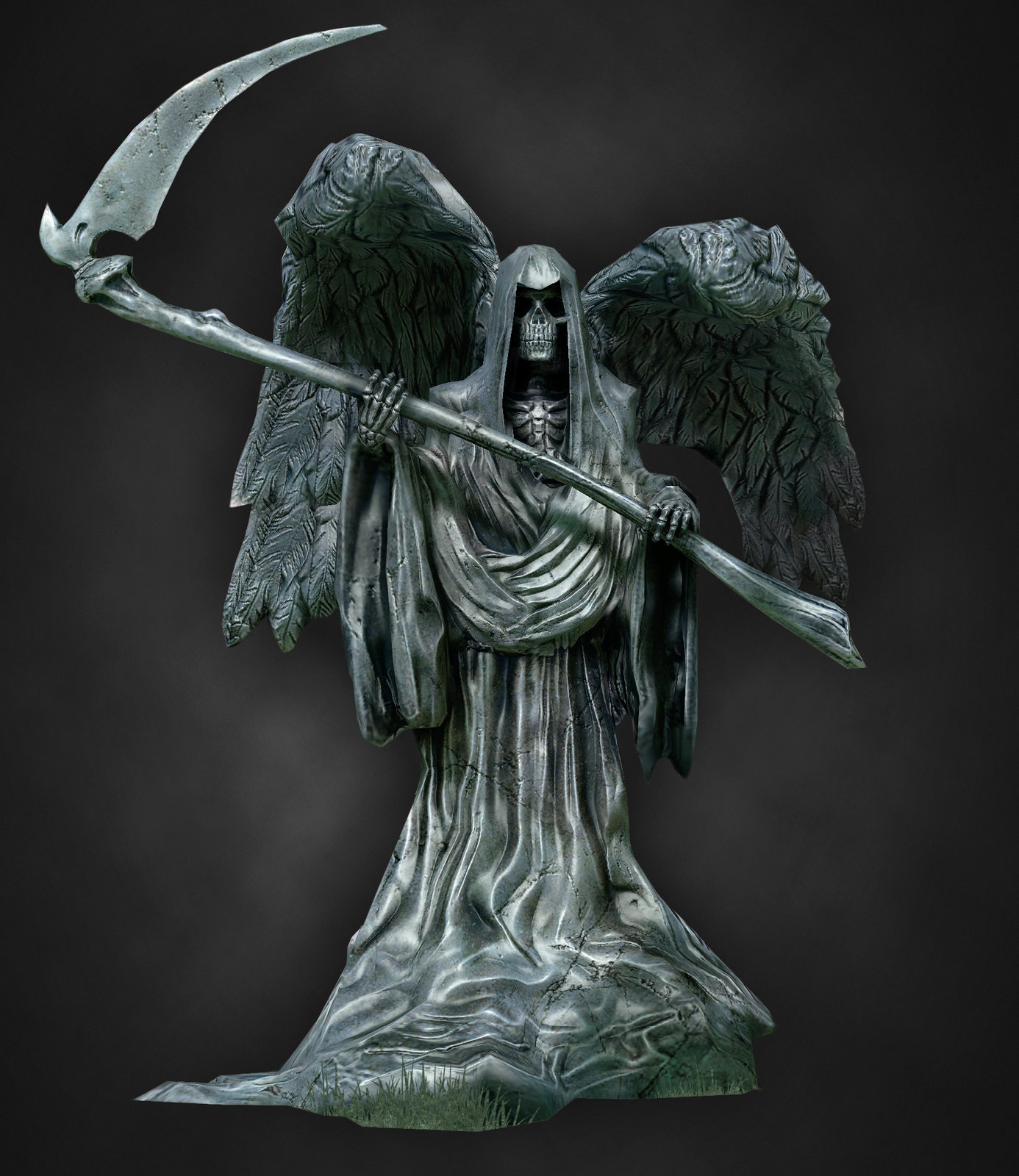Harry Potter Graveyard Statue in game version