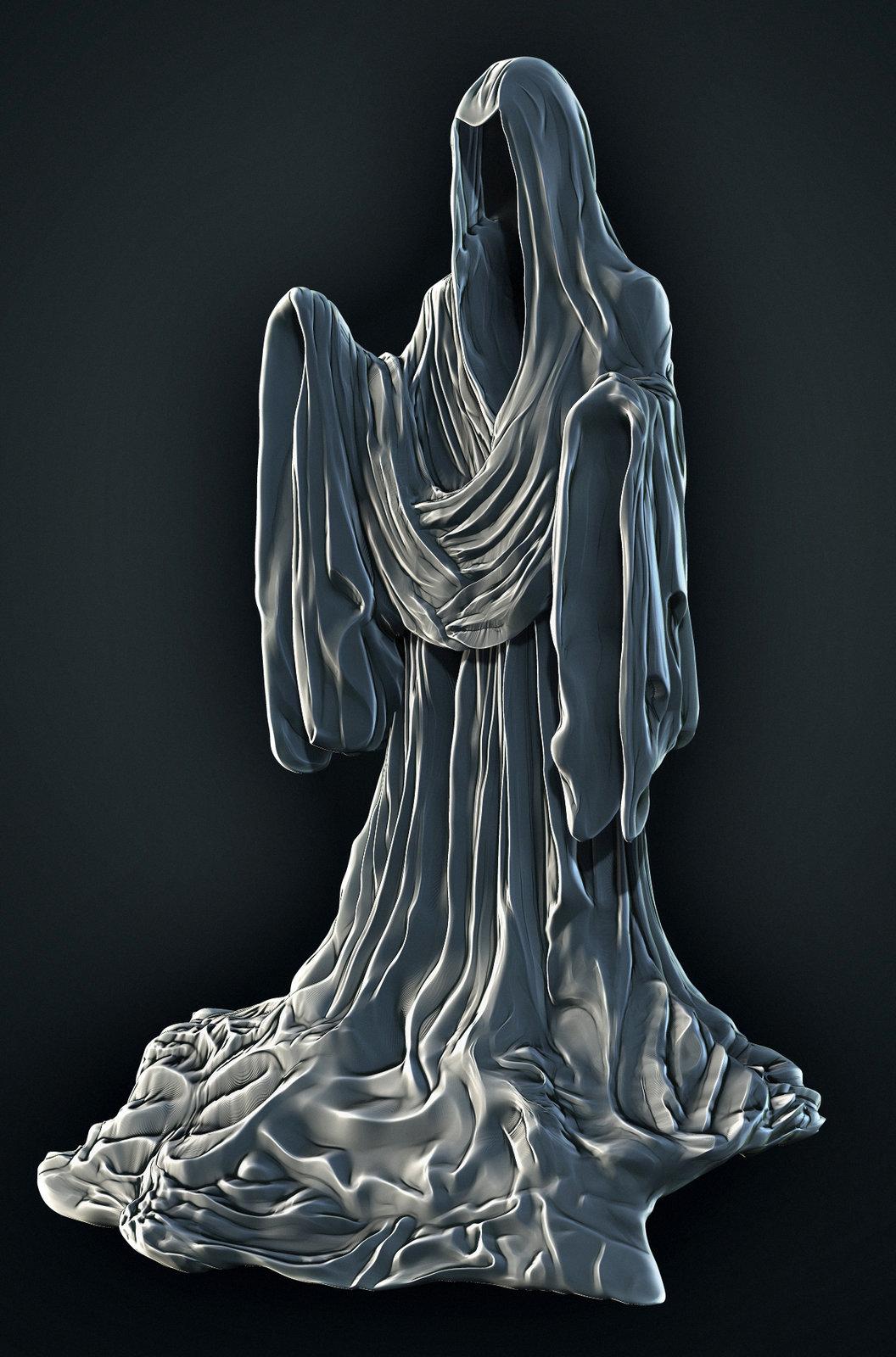 Harry Potter Graveyard Statue